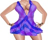 Purple Plaid Dress