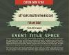 Custom Event Flyer Pymt