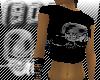 (90E)Metal Skull T.