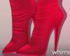 Fuzzi Red Boots