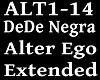 DEDE NEGRA - ALTER EGO