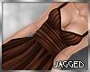 Arya dress chocolate
