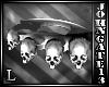 Silver Skull Knuckles L