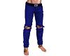 Blue Rip Jeans