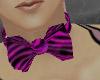 pink zebra bowtie m