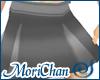Box Pleated Skirt Steel
