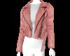 Mauve leather jacket