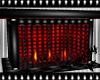 Dark Rouge Fireplace