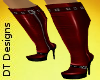 ~DT~ Kneehigh Boot Red