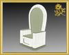 Wicker Garden Throne