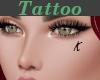 Tattoo Left Cheek K