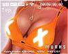 $ Bolt Orange Bra - BIG