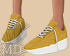 Simple Yellow Shoes