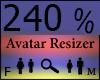 Any Avatar Size,240%