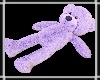 Sleepy Teddy Purple