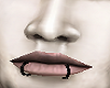 Black Lip Rings