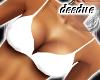 = Bikini Top White =