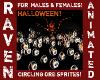HALLOWEEN CIRCLING ORBS!