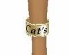 Cat's customs bracelet