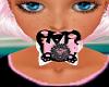 Black an Pink Kitty paci
