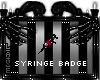 Syringe Badge
