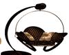 brown cuddle chair