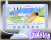 Baby Monitor Screen Blue