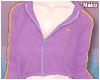 ♪ zip-up hoodie