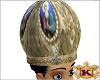 priest gold hat