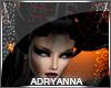 A~ Demon Horns 2 Red Blk