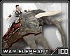 ICO War Elephant Grey M