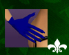 Dainty Blue Gloves