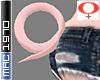 Pink Pig Tail