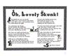 Childs Wall Skunk Poem