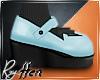 Powder Blue Devil Shoes