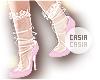 Cute Witch Heels & Socks