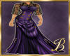 Steampunk in violet gown