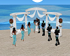 White Wedding Podium