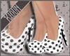 K| Polka Pumps White