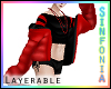 Lay Red Black Bomber