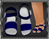 Sophi Navy Blue Sandals