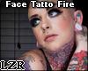 Face Tatto Fire