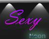 SEXY NEON BANNER