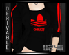 ll24ll RED  HOODY