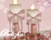 CANDLES PINK