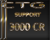 CTG SUPPORT  3000 CR