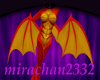 Autumn Dragoness Wings