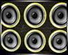 :Yellow&Black Speakers: