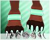 ☆ Maryn Paw Cuffs