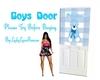 Boys Door